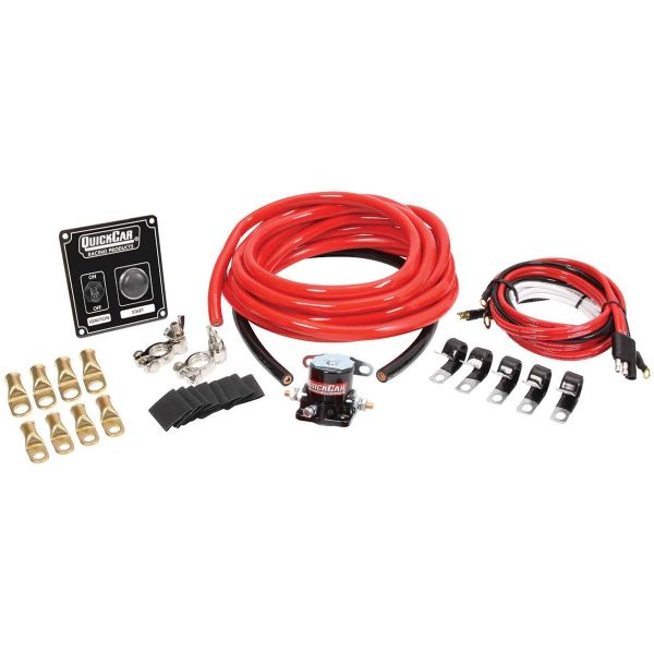 QuickCar 2 AWG Wiring Kit; 50-802 Without MDS